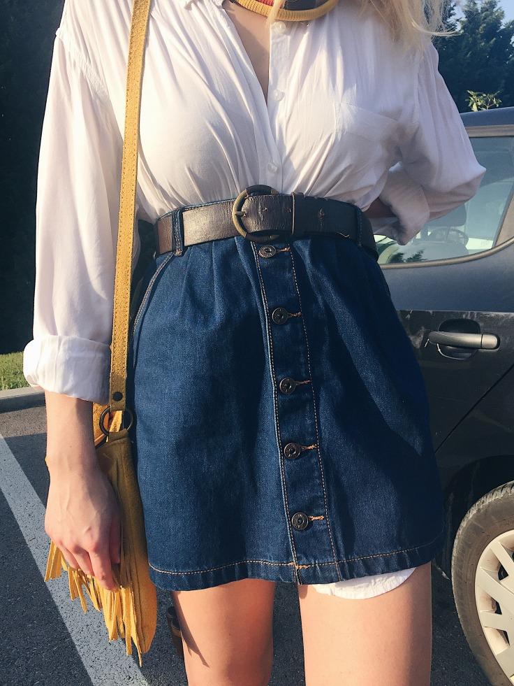 falda vaquera