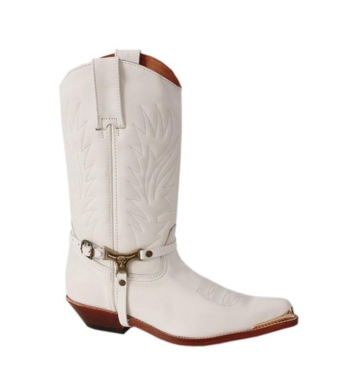 bota-cowboy-blanca-en-piel-con-puntera-de-metal